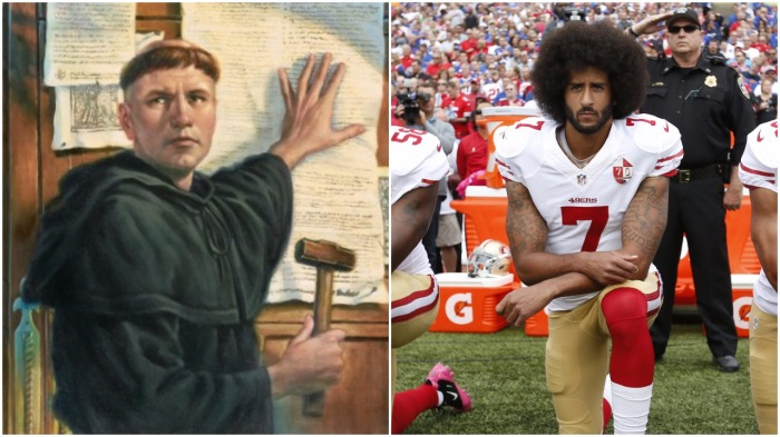 The 'Protest'-ant Reformation: From Luther to Kaepernick